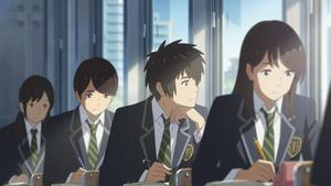 """Ab 1. Februar regulär im Kino: der Anime-Hit """"Your Name. - Gestern, heute und für immer"""" (Bild: Universum Film)"""