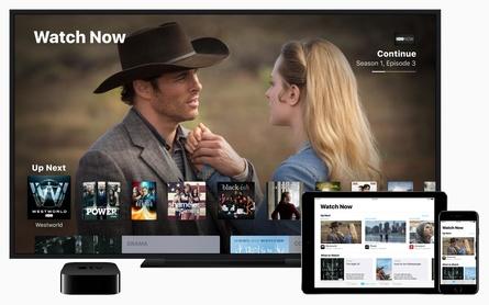 Ab Dezember zunächst in den USA verfügbar: die neue TV-App von Apple (Bild: Apple)