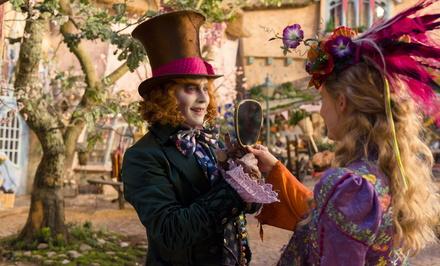 """""""Alice im Wunderland: Hinter den Spiegel"""" holt einen starken zweiten Platz (Bild: Walt Disney)"""