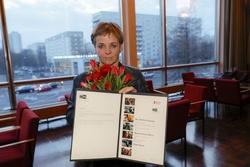 Annekatrin Hendel, Gewinnerin des Heiner-Carow-Preises (Bild: Brigitte Dummer)