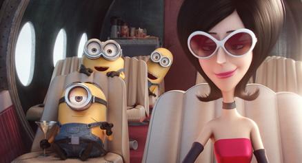 """Auch nach dem fünften Wochenende auf Platz eins der deutschen Kinocharts: die """"Minions"""" (Bild: Universal)"""