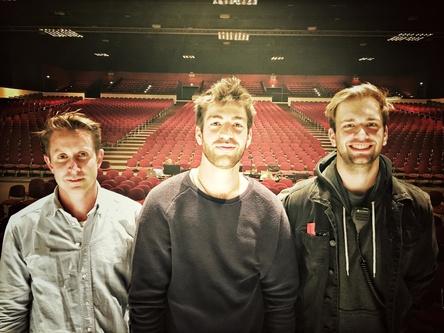 Auf dem Sprung auf die große Bühne (von links): Fritz Krings (Geschäftsführer Peripherique Publishing), Joscha Baltes und Max Gervink (Product Manager Peripherique Publishing (Bild: Peripherique)