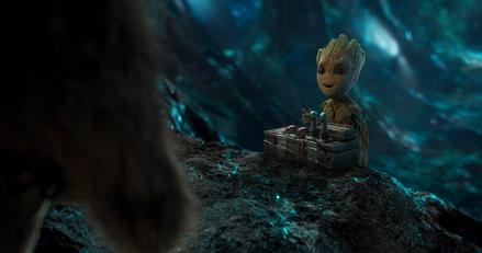 "Baby Groot katapultierte ""Guardians of the Galaxy Vol. 2"" an die Chartspitze (Bild: Walt Disney)"