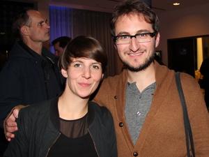 Bauen das Berliner Büro der Sound Diplomacy auf: Katja Hermes und Shain Shapiro, hier beim Reeperbahn Festival 2013 (Bild: MusikWoche)