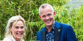 Bero Beyer mit Marjan van der Haar (Bild: Anne-Claire Lans)