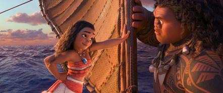 """Bestbewerteter 3D-Titel 2016: """"Vaiana"""" (Bild: Walt Disney)"""