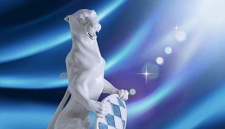 Blauer Panther ganz in Weiß (Bild: br.de)
