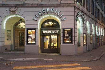 """Das Arthouse Piccadilly zählt zu den insgesamt fünf Häusern der Arthouse Commercio Movie AG, die voraussichtlich bis Februar in eine """"Kunstpause"""" gehen (Bild: Arthouse Commercio Movie AG)"""