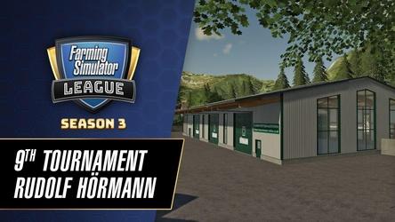 Das neunte Turnier der aktuellen FSL-Saison soll vor Ort bei der Firma Hörmann stattfinden. (Bild: Giants Software)