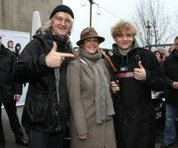 Detlev Buck, Anika Decker und Matthias Schweighöfer (v.l.) (Bild: Universal)