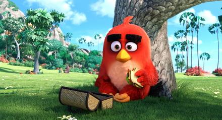 """Die """"Angry Birds"""" schoben sich wieder auf Platz drei (Bild: Sony Pictures)"""