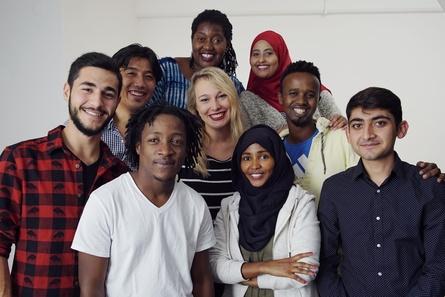 Die jungen Kuratoren von Kino Asyl (Bild: JFF)