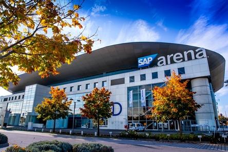 Eine sichere Halle: die SAP Arena in Mannheim (Bild: SAP Arena)