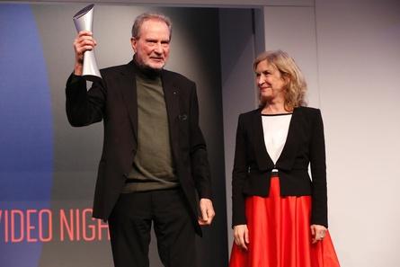Erhielt aus den Händen von Marita Breuer den Lifetime Achievement Award: Edgar Reitz (Bild: Kurt Krieger)