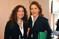 Filmexpertin Liz Rosenthal mit Filmstiftung-NRW-Geschäftsführerin Petra Müller (Bild: Film- und Medienstiftung NRW/Heike Herbertz)