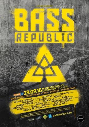 Findet im September erstmals statt: das von I-Motion veranstaltete Festival BassRepublic (Bild: I-Motion)