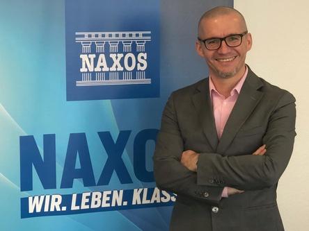 Füllt eine Lücke im Portfolio: Naxos-Geschäftsführer Matthias Lutzweiler (Bild: Naxos Deutschland)