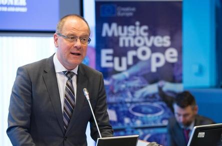 Gab den Startschuss für Music Moves Europe: Tibor Navracsics (EU-Komissar für Bildung, Kultur, Jugend und Sport) (Bild: Europäische Union/Lukasz Kobus)