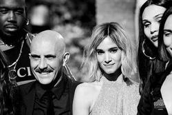 """Gaspar Noé mit seinen """"Climax""""-Darstellern in Cannes (Bild: Festival de Cannes)"""