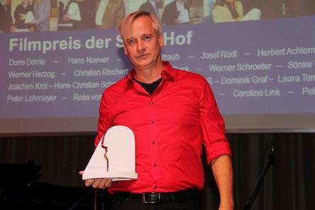 Gern gesehener Gast in Hof: Chris Kraus, hier auf den Filmtagen 2014 (Bild: Hendrik Ertel/Hofer Filmtage)