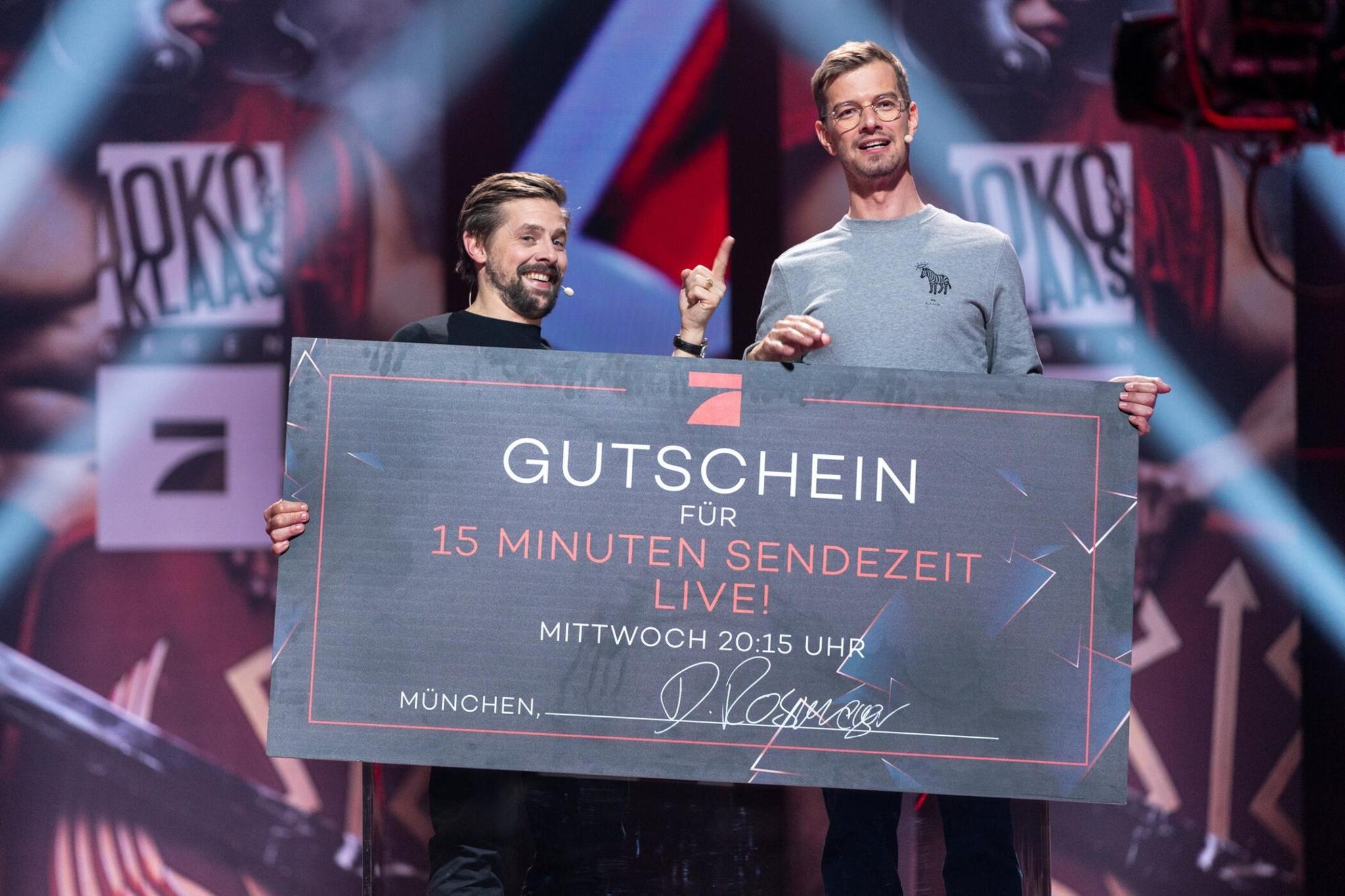Einschaltquoten Joko Klaas Starten Stark In Neue Staffel