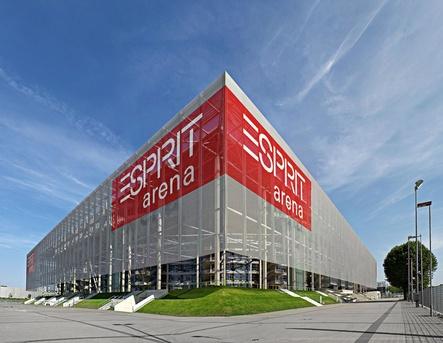 Heißt bald Merkur Spielarena: die Düsseldorfer Exprit Arena (Bild: Ansgar M. van Treeck)