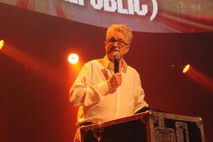 Holte sich den Lifetime Achievement Award ab: Melvin Benn (Festival Republic) (Bild: MusikWoche)