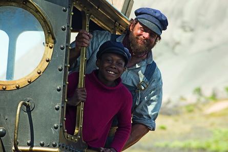"""Kurz vor der Besuchermillion in den deutschen Kinos: """"Jim Knopf und Lukas der Lokomotivführer"""" (Bild: Warner)"""