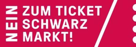 """Macht sich gegen den unautorisierten Zweitmarkt stark: das vom bdv entwickelte Logo """"Nein zum Ticket-Schwarzmarkt"""" (Bild: bdv)"""