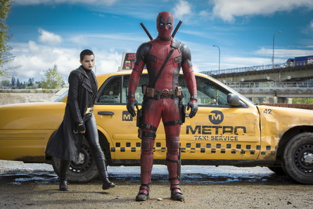 """Moderates Budget, Riesenerfolg: """"Deadpool"""" konnte in Deutschland schon mehr als zwei Mio. Besucher begeistern (Bild: Fox)"""