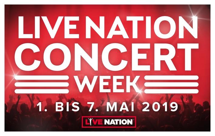 MusikWoche | News | Live Nation zelebriert Concert Week Anfang Mai