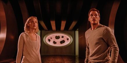 """""""Passengers"""" hielt sich auf Platz drei (Bild: Sony Pictures)"""
