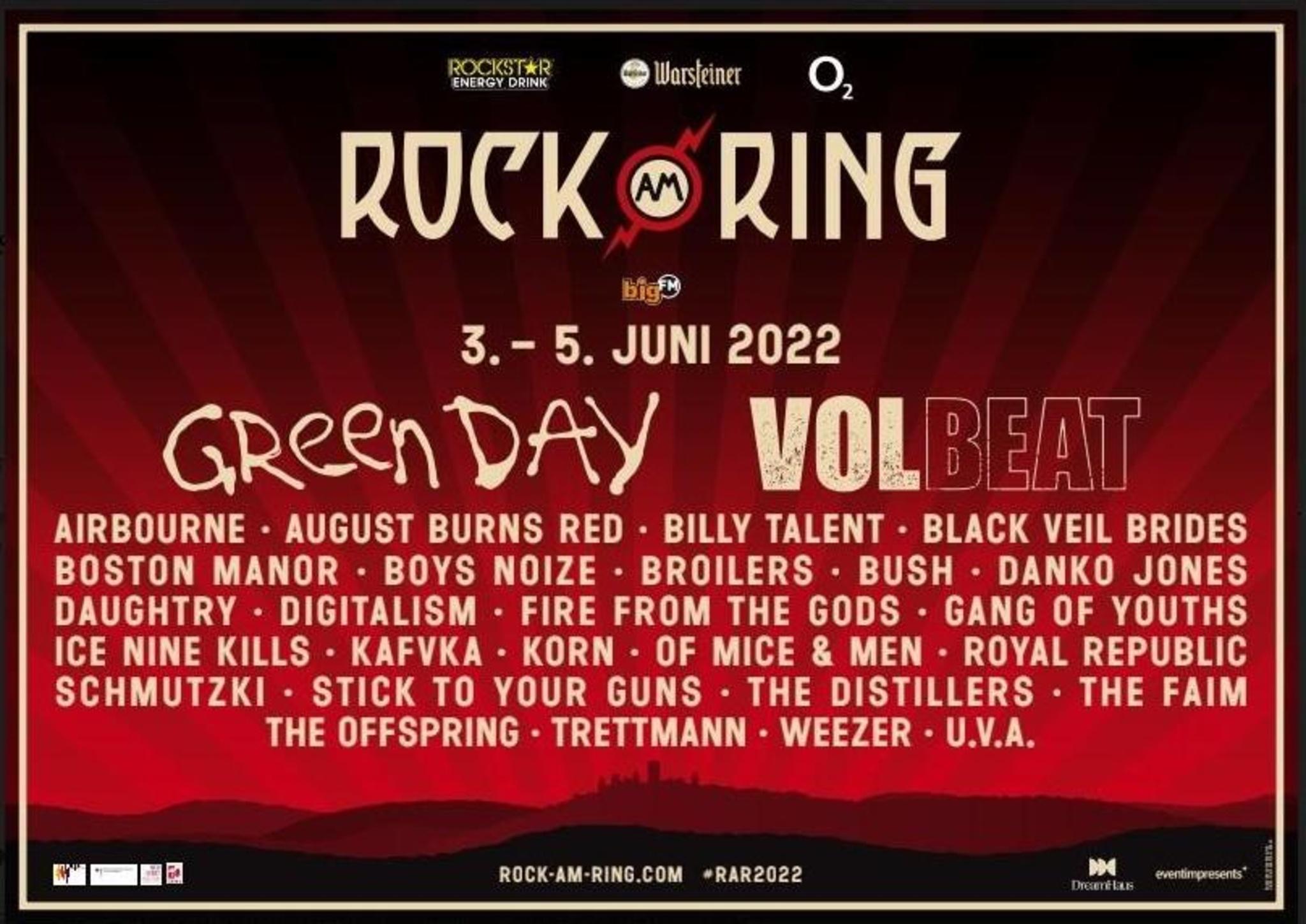 23+ DreamHaus nennt erste Acts für Rock am Ring 8 Stock
