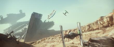 """""""Star Wars"""" beherrscht die Kinocharts weltweit nach Belieben (Bild: Walt Disney)"""
