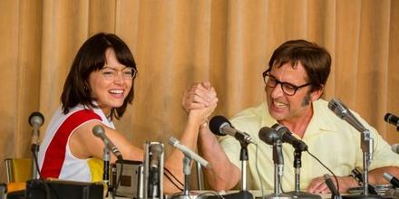 "Steve Carell und Emma Stone treten zur ""Battle of the Sexes"" an (Bild: TIFF)"