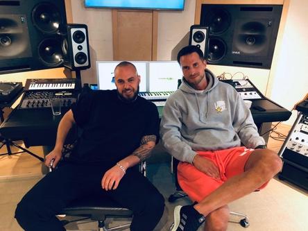 Verbindet eine gemeinsame Vision: Produzent Alexis Troy (links) und Elvir Omerbegovic. (Bild: Selfmade Records)