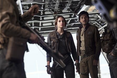 """Vor allem das Erscheinen der Blu-ray zu """"Rogue One: A Star Wars Story"""" wird sehnlichst erwartet (Bild: Walt Disney)"""