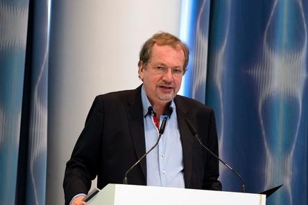 Zufrieden mit dem Abstimmungsergebnis zur Verbandsverschmelzung und mit der gesamten Tagung: bdv-Präsident Jens Michow (Bild: Daniel Braun)