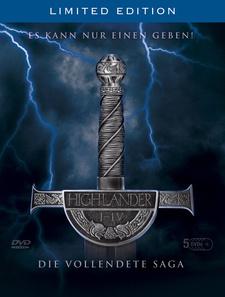 Highlander - Die vollendete Saga (5 DVDs)