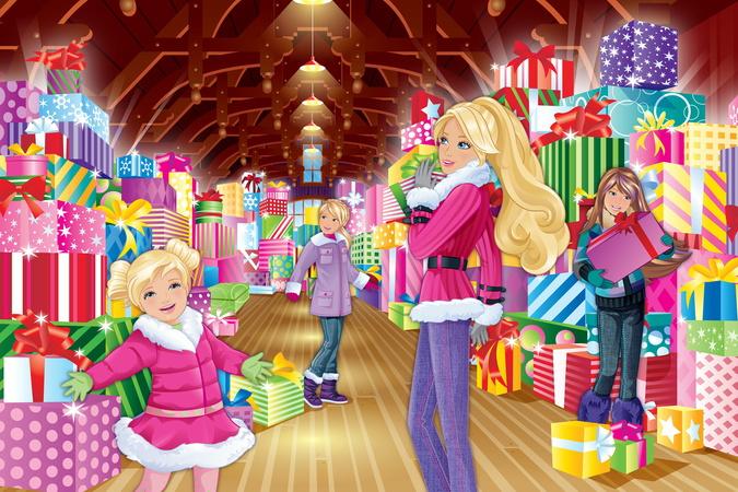 Videomarkt Video Barbie Zauberhafte Weihnachten