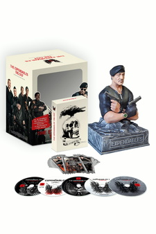 The Expendables Trilogy (Limited Edition mit Büste, 5 Discs)