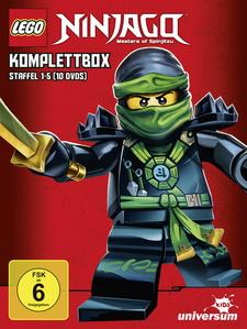 Lego Ninjago Komplettbox - Staffel 1-5 (10 Discs)