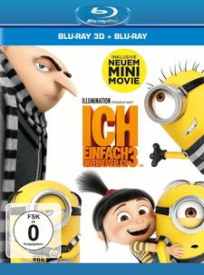 Ich - Einfach unverbesserlich 3 (Blu-ray 3D + Blu-ray)