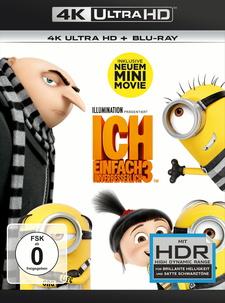 Ich - Einfach unverbesserlich 3 (4K Ultra HD + Blu-ray)