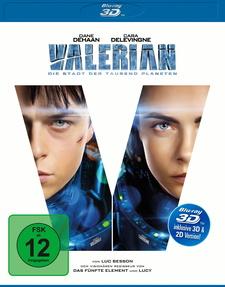 Valerian - Die Stadt der tausend Planeten (Blu-ray 3D)