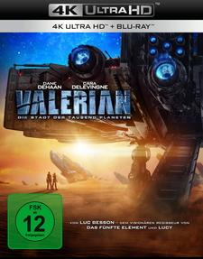 Valerian - Die Stadt der tausend Planeten (4K Ultra HD + Blu-ray)