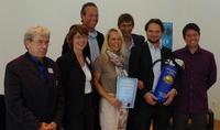 Johannes Schultz (Jury, ehem. BMW Group); Iris Ramme (Hochschule N�rtingen-Geislingen), Matthias M. Alefeld (MA Media GmbH); Petra Kroop (SevenOne AdFactory); Frank Giersberg (VPRT); Marco Knies (SevenOne AdFactory) und Marc Sickfeld (OMD Germany)