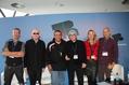 Suchten nach dem Gleichgewicht (von links): Johnny Haeusler, Alan McGee, Sat Bisla, Manfred Gillig-Degrave, Helienne Lindvall und Scott Cohen