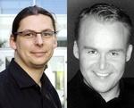 Freuen sich über die Zusammenarbeit: <b>Nils Zehnpfennig</b> (l.) AL!VE und - b150x121