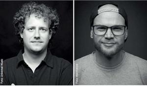 Wollen sich die MerchDays als Besucher anschauen: Michael Hahn (links) und Tino Kunstmann